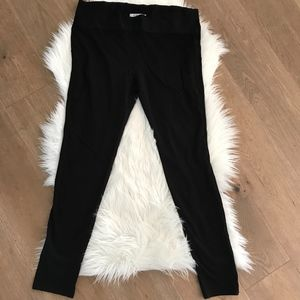 Cabi 521 Women's Black Ponte Skinny Leggings Sz L